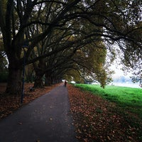 Photo taken at Parkinsel by Dan H. on 10/28/2014