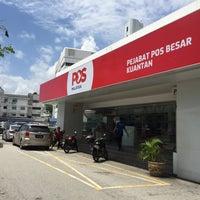 Photo taken at Pejabat Pos (Post Office) by Qishin T. on 2/12/2016