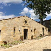 Photo taken at Château Figeac by Shuji M. on 6/30/2016