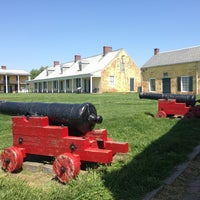 Photo taken at Fort Mifflin by DeAndre on 5/3/2013