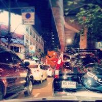 Photo taken at Sukhumvit Road by chan t. on 6/11/2013