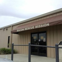 Photo taken at Macon Rescue Mission by Andrew S. on 10/19/2013