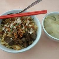 Photo taken at Mie Bakso Gaya Tunggal by Ivania C. on 11/7/2014