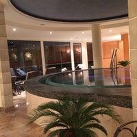 Photo taken at Panorama Resort Feusisberg by Simone S. on 10/27/2015