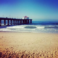 Photo taken at Manhattan Beach Pier by Brianna L. on 2/17/2013