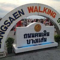 Photo taken at Bangsaen Walking Street by Aor j. on 2/9/2013
