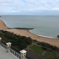Photo taken at Folkestone by Rapнaël D. on 3/20/2016