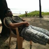 Photo taken at Kelwa Beach by Nikhil A. on 10/2/2013