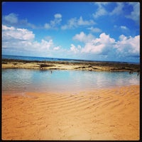 Photo taken at Praia Mirante da Sereia by Thaisa C. on 4/13/2013