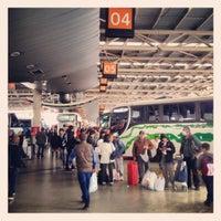 Photo taken at Terminal de Buses San Borja by Javier P. on 9/29/2012