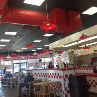Photo taken at Five Guys by Nana R. on 1/16/2015