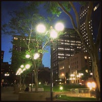 Photo taken at Post Office Square by Leisa (Lou) J. on 4/5/2013