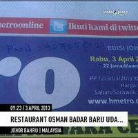 Photo taken at Restoran Osman by En.Kambing® on 4/3/2013