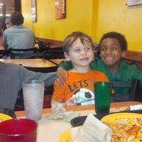 Photo taken at Cicis by Denise T. on 3/16/2014