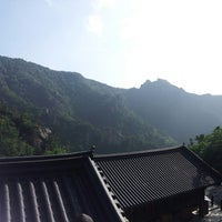Photo taken at 봉정암 (鳳頂庵) by Lee w. on 7/30/2014