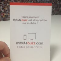 Photo taken at MinuteBuzz by Joël G. on 3/1/2013