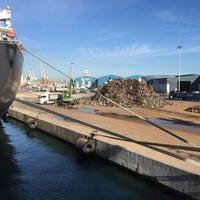Photo taken at Port de Tarragona by Ayhan D. on 11/5/2015