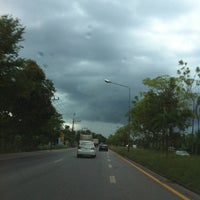 Photo taken at Khao Chaison Intersection by ! ! #Thawe on 10/16/2013