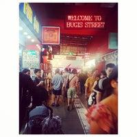 Photo taken at Bugis Street by Ajim A. on 3/30/2013