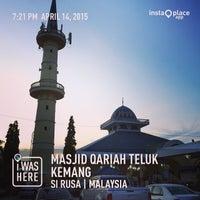 Photo taken at Masjid Qariah Teluk Kemang by Ajim A. on 4/14/2015