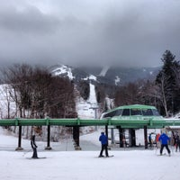 Photo taken at Cannon Mountain Ski Area by Taylor M. on 1/17/2013