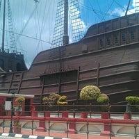 Photo taken at Kompleks Muzium Maritim (Samudera / Flor de La Mar) by EDMUND T. on 10/21/2012