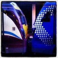 Photo taken at Haymarket Railway Station (HYM) by Lee O. on 10/18/2012