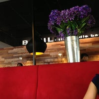 Photo taken at Basil Thai Nudle Bar by Anne🎀 I. on 1/24/2013