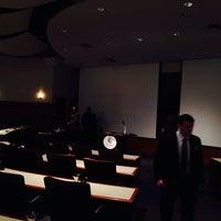 Photo taken at Holtzman Alumni Center by Rich D. on 2/24/2014