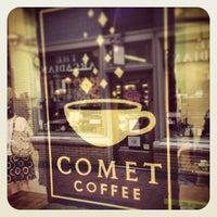 Photo taken at Comet Coffee by Matt d. on 7/15/2013