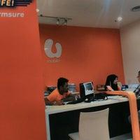 Photo taken at U Mobile Service Centre by edmund ng c. on 3/16/2016