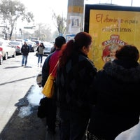 Photo taken at Tesoreria Acoxpa by Daniela H. on 1/22/2014