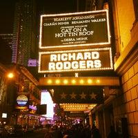 Photo taken at Richard Rodgers Theatre by Андрей А. on 2/6/2013