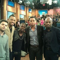 Photo taken at 106 & Park Studio by Romany M. on 4/5/2012