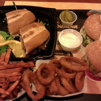 Photo taken at The Habit Burger Grill by Ricky W. on 3/4/2012