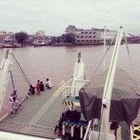 Photo taken at pelampung penyebrangan ferry prima eksekutif by KMP SUNGAI K. on 9/22/2013