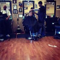Photo taken at Kool Kuts Barbershop by Candace W. on 11/3/2012