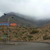 Photo taken at Mina Los pelambres by Ruben R. on 11/1/2013
