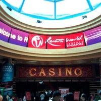 Photo taken at Resorts World Sentosa Casino by Daesong S. on 12/1/2012