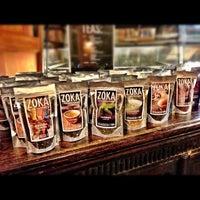 Photo taken at Zoka Coffee Roaster & Tea Company by Kate K. on 11/14/2012
