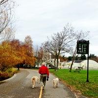 Photo taken at Green Lake Loop by Kate K. on 11/25/2012