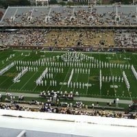 Photo taken at Bobby Dodd Stadium by Shannon L. on 10/20/2012