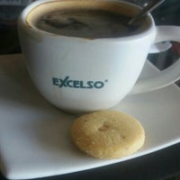 Photo taken at EXCELSO Café by Mulyadin Wenggo on 12/27/2015