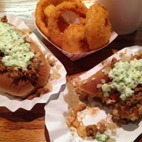 Photo taken at Brandi's World Famous Hot Dogs by Max L. on 11/15/2013
