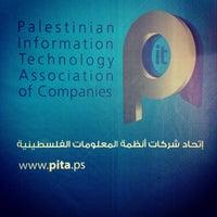 Photo taken at PITA (Palestinian IT Association of Companies) by Alan W. on 10/9/2012