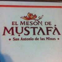 Photo taken at Restaurante Mustafa by Kary Y. on 10/6/2012