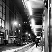 Photo taken at Nicollet Mall LRT Station by Kelly D. on 2/8/2013