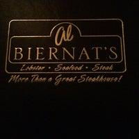 Photo taken at Al Biernat's Prime Steak & Seafood by M F. on 6/15/2014