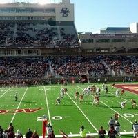 Photo taken at Alumni Stadium by Jim G. on 11/17/2012