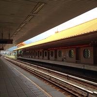 Photo taken at 捷運忠義站 MRT Zhongyi Station by ailuvyuto on 6/13/2015